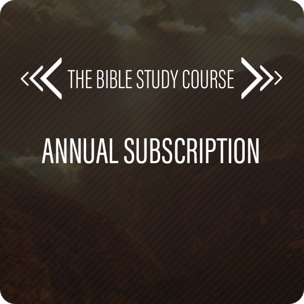The Bible Study Course Subscription